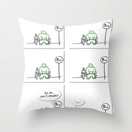 Supers - Smash Throw Pillow