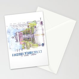 Monument Terrace at the Lynchburg Museum Stationery Cards