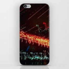Brooklyn Night View iPhone Skin