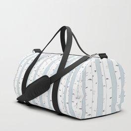 Aspen Forest - Blue Grey Duffle Bag