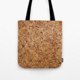 Cork pattern Tote Bag