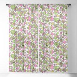 Shroomin Hi-Lite Sheer Curtain