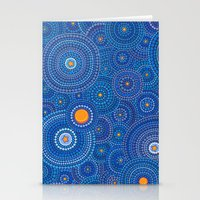 starry night Stationery Cards featuring Starry Starry Night by Elspeth McLean