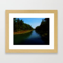 Carrying Place, Hancock Maine Framed Art Print