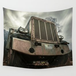 Rusty Warrior Wall Tapestry