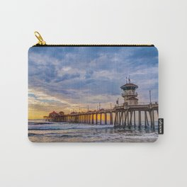 Unsettled Sunset Carry-All Pouch