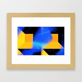 Dual Perspective Framed Art Print