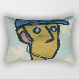 Bat Boy Rectangular Pillow