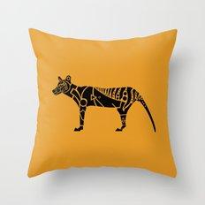 Tasmanian Tiger Throw Pillow