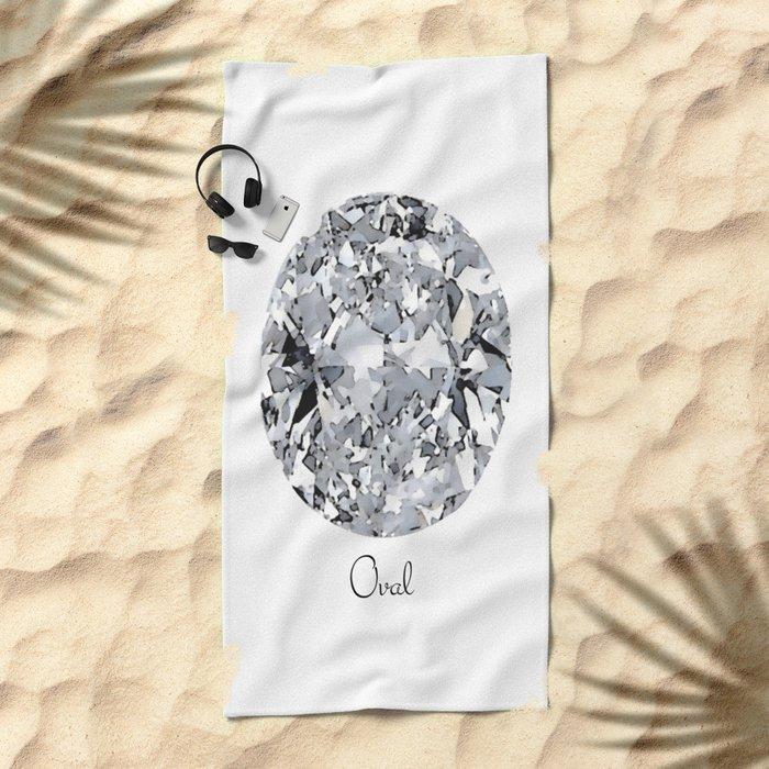 Oval Beach Towel
