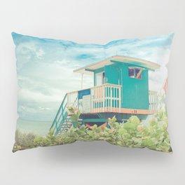 Lifeguard Station on Miami Beach Florida Pillow Sham