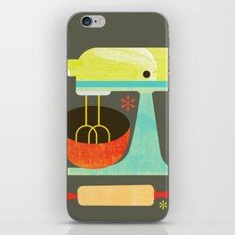 Kitchen Mix & Roll iPhone Skin