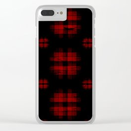 Cuadraos curos Clear iPhone Case