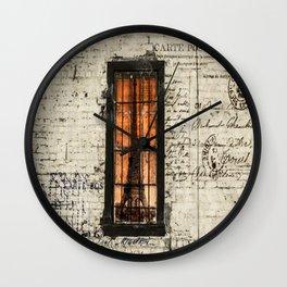 Dreaming of Paris Wall Clock