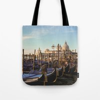 venice Tote Bags featuring Venice by Lorenzo Bini