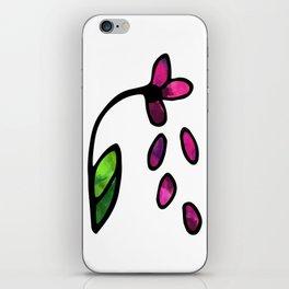 Wilting Daisy iPhone Skin