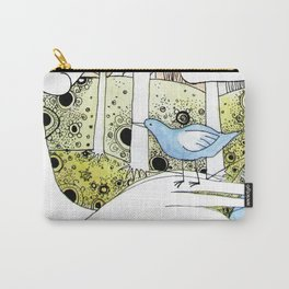 Spring-love-bird-arms-sheandhim Carry-All Pouch