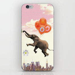 Elephant Air Zoo iPhone Skin