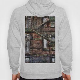 Hudson River State Hospital, 2007, Original Victorian Fire Escape Detail Hoody