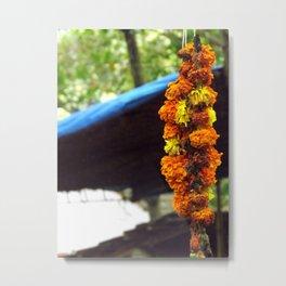 Indian Flowers Metal Print