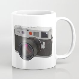 Leica M9 Camera polygon art Coffee Mug