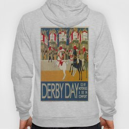 Vintage poster - Derby Day Hoody
