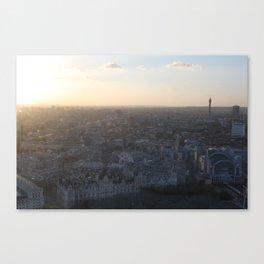 London at Dusk (2012) Canvas Print