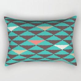 Aztec Summer Rectangular Pillow