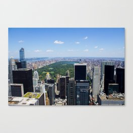 New York City View Canvas Print