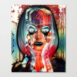 Radiation Girl Canvas Print