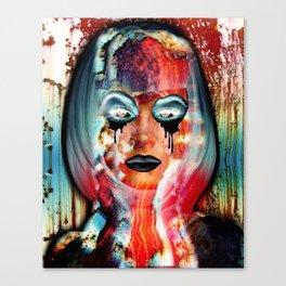 Radiation Girl Canvas Print