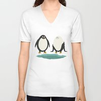 suit V-neck T-shirts featuring bathing suit by gotoup