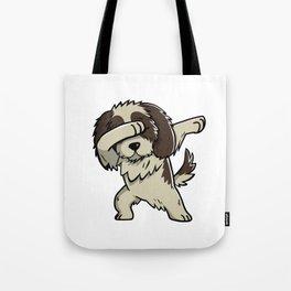 Dabbing Shih Tzu Dog Dab Dance Tote Bag