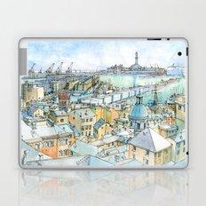 Il Porto (view of Genoa) Laptop & iPad Skin
