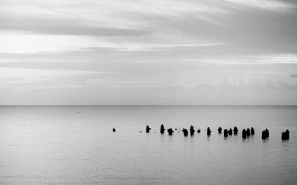 Art Print - BEACH DAYS XXVIII BW - xiari photography