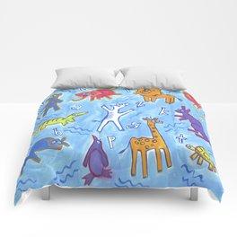 ABC Zoo Animals Comforters