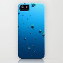 Fish Fall iPhone Case