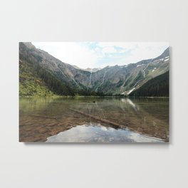 Avalanche Lake Metal Print