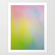 Color Field/Washes III Art Print
