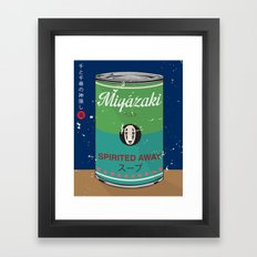 Spirited Away - Miyazaki - Special Soup Series  Framed Art Print