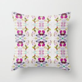 Back to Joy (Abstract Painting) Throw Pillow