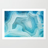 minerals Art Prints featuring THE BEAUTY OF MINERALS 3 by Catspaws
