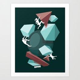 fun team Art Print