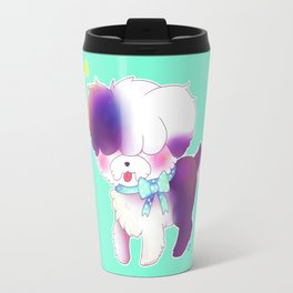 The Curious Sheepdog Travel Mug