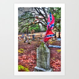 Confederate Art Print