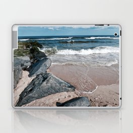 Rocky Waves Laptop & iPad Skin