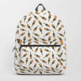 Champagne Bottle Pattern Backpack
