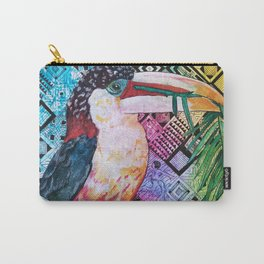 The Origin of the Aracari ( Toucan Bird Whisperer Project ) Carry-All Pouch