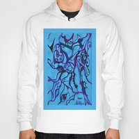 carousel Hoodies featuring Carousel by Art by Mel
