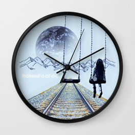 Foo Yonder Wall Clock